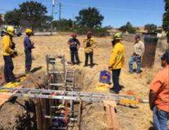 Paso Robles Trench Rescue Training