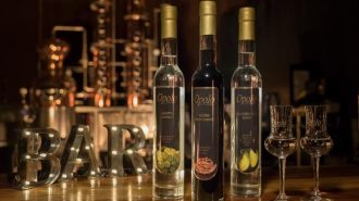Opolo produces three liqueurs, Grappa from Opolo's estate grown Muscat Blanc, a William's Pear Brandy distilled from northern California Bartlett pears and a Nocino, a walnut based liqueur made from their organic estate walnuts.