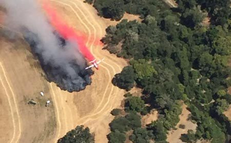 Photo from Cal Fire Twitter.