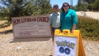 Pastors Liz and Ryan Radtke of Hope Lutheran Church in Atascadero .