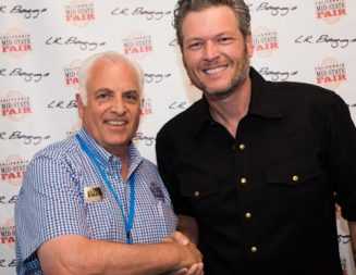 Blake Shelton 'Wins' the Mid-State Fair