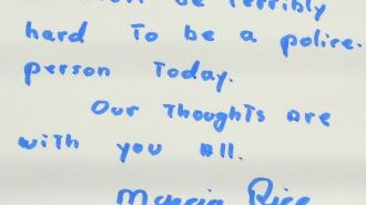 Note from Marcia to PR PD