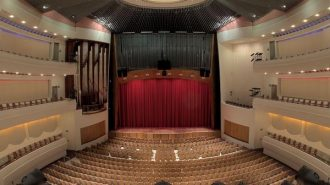 Harman Hall at the San Luis Obispo Performing Arts Center.