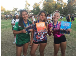 PRHS cheerleaders win awards at camp