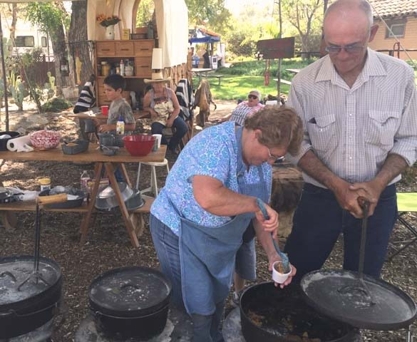 Monte Mills, Rios-Caledonia Adobe, Caledonia Days, Dutch Oven Cook-off, San Miguel