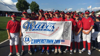 PRJUSD boys baseball cooperstown