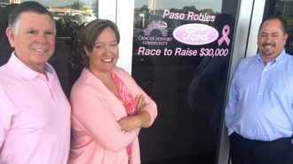 Cancer Support Community, Paso Robles Ford, Race to Raise $30,000, Shannon D'Acquisto, Thom Schulz, Heath Shepherd, Meagan Friberg