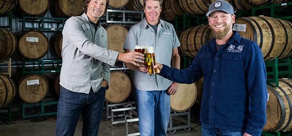 From L to R: David Walker, Adam Firestone and brewmaster Matt Brynildson. Photo from Wine Enthusiast.
