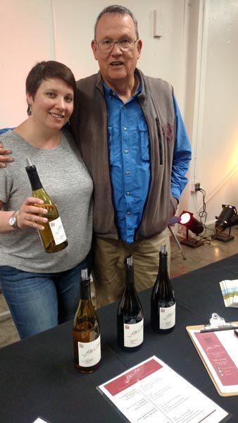 Maggie & Bob Tillman of Alta Colina Vineyards.