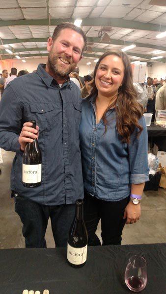 Nick Elliot and Elissa Salgado of Nicora Wines.