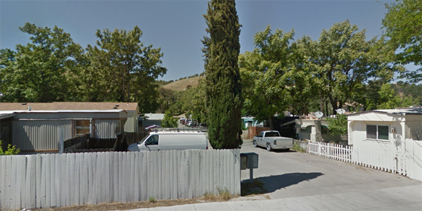 Paso Robles Mobile Home Park. Photo from Google maps.