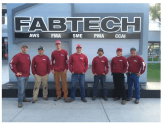High school welding students win first place in contest