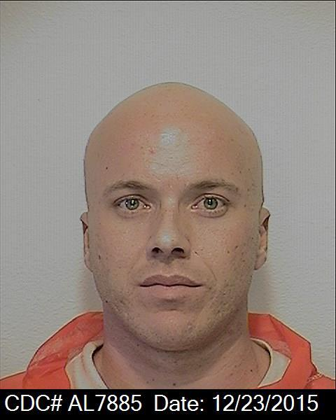 Inmate Brian Thomas Dill (photo courtesy California Department of Corrections and Rehabilitation).