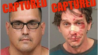 suspects captured