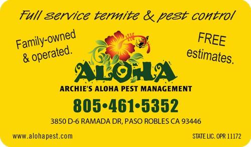 Archies S Aloha Pest Control Archie Hr Cvr16 Jpg