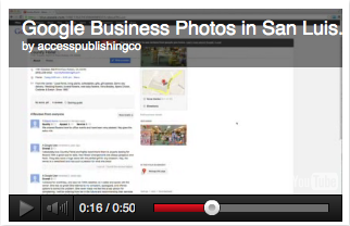 Access Publishing's new virtual tour service was featured on KCOY