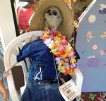 Scarecrow at Kahuna's