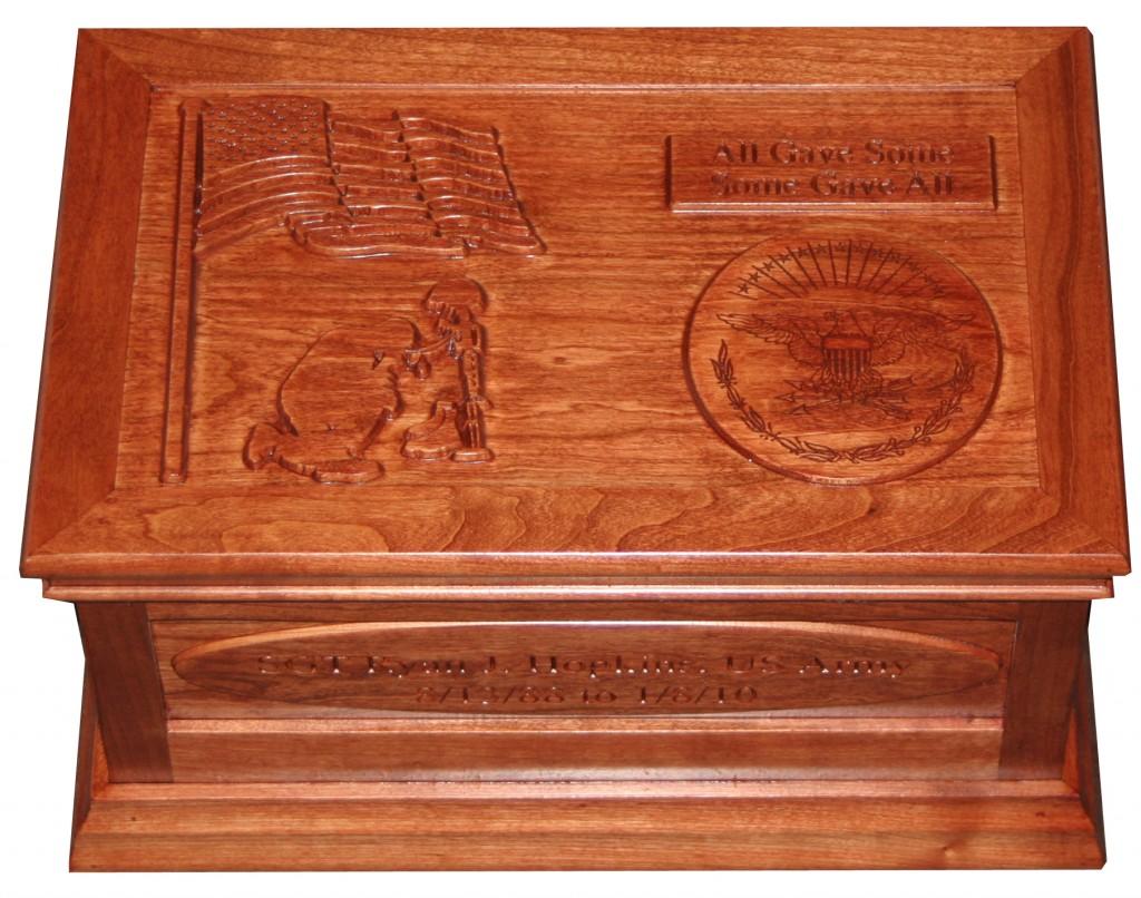 A memorial memory box