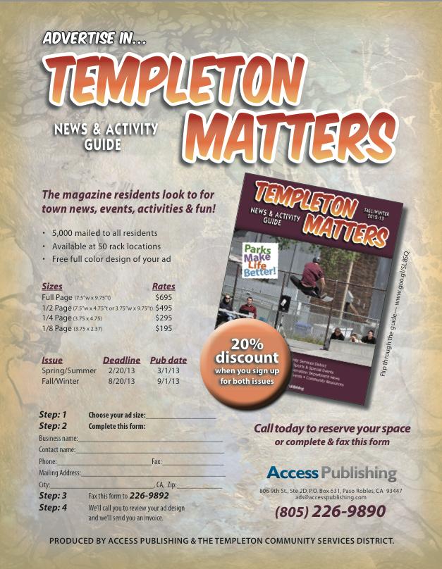 templeton-matters-advertising-information