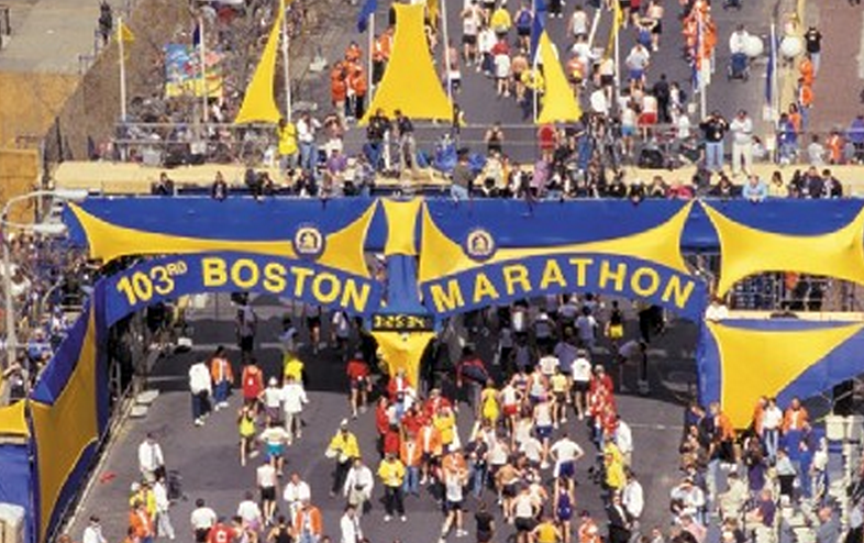 Central Coast residents in Boston Marathon