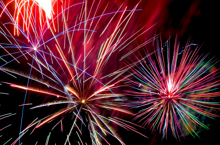 Paso Robles Fireworks on Fourth of July