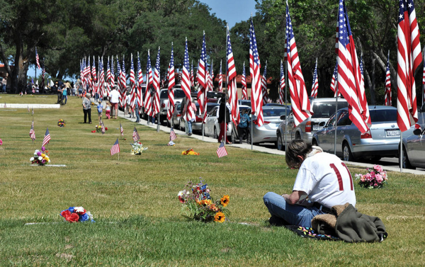 Memorial Day Ceremony at the Paso Robles Cemetery