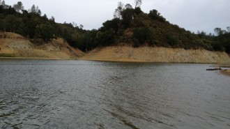 Lake Nacimiento Water Levels