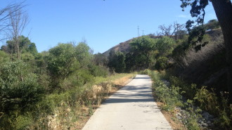 Salinas River Walk in Paso Robles