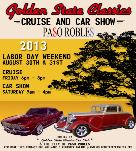 Classic Cars Cruise All Over Paso Robles Paso Robles Daily News - Car show paso robles 2018