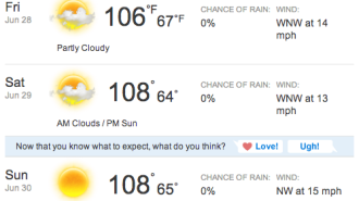 paso robles heat wave