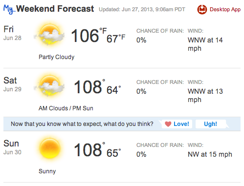 paso robles heat wave