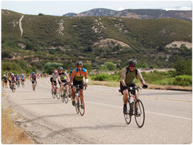 AIDS/LifeCycle in Paso Robles