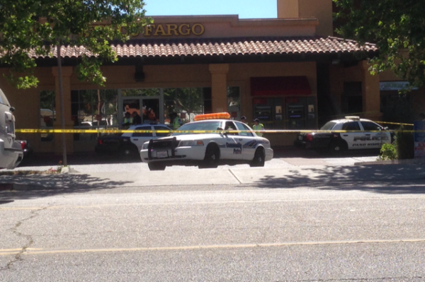 Robbery at Wells Fargo in Paso Robles