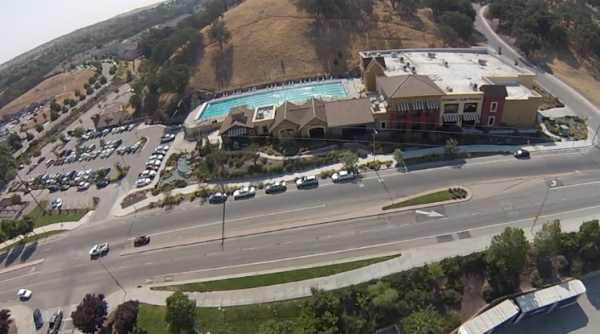 aerial view of Kennedy Club