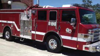 Paso Robles new fire truck