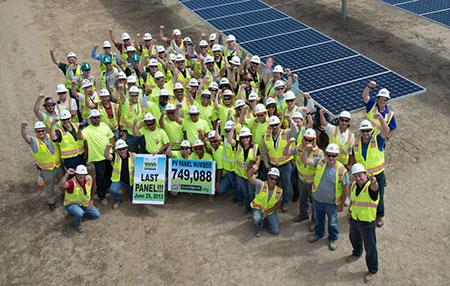 California Valley Solar Plant Installs Final Panels Paso