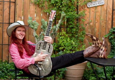 """Australian swamp blues/rock musician """"8 Ball"""" Aitken"""