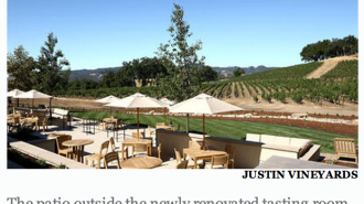 Justin Winery, Restaurant and Inn
