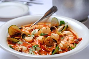 Cioppino and Vino