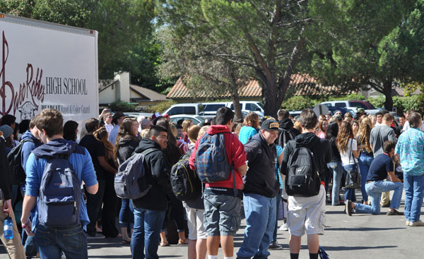 Paso Robles High School students