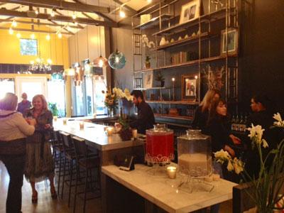 Thomas Hill Organics Wine Lounge