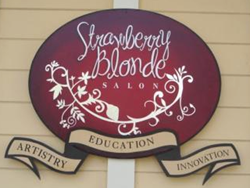 Strawberry Blonde Salon