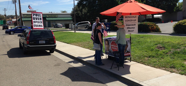 post office protestors