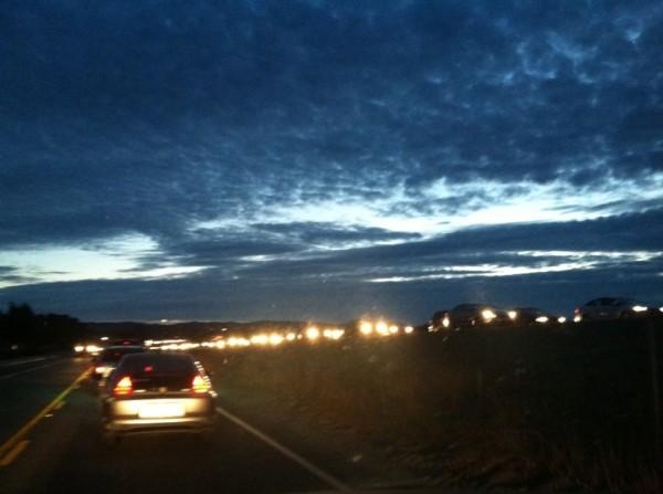 Highway 101 accident