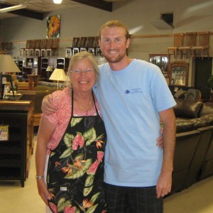 Mary and Jake Hall at American Oak Wholesalers in Paso Robles provide friendly, local service to customers at their family-owned business.