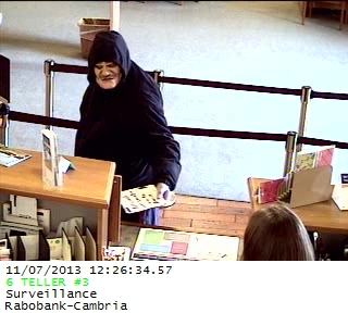 cambria bank robbery
