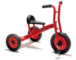 tricycles stolen from school