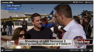 Paso Robles couple at LAX