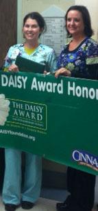 Tara Taylor, RN Winner of DAISY Award