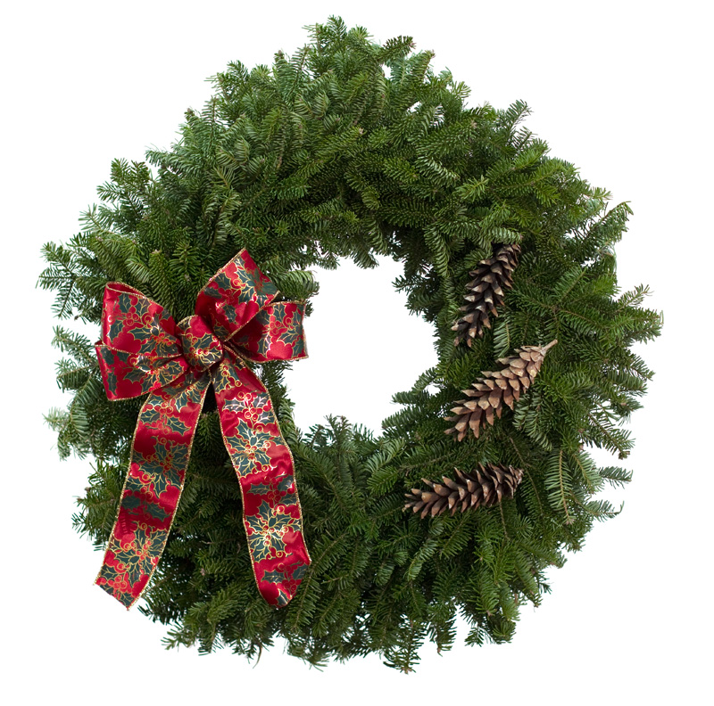 Order christmas trees wreaths swags this week paso for Best place to buy wreaths